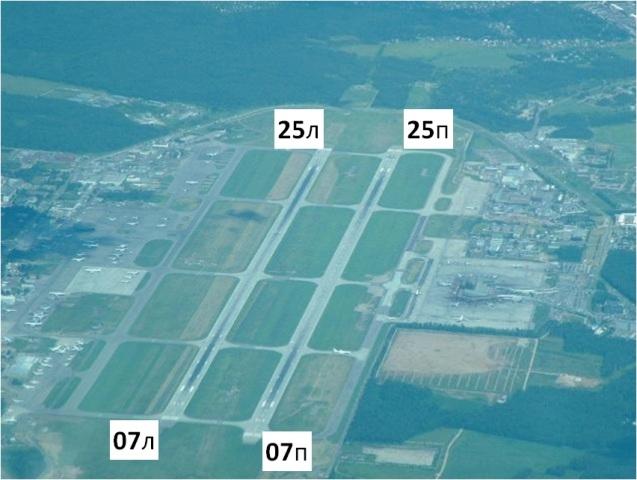 ВПП аэропорта Шереметьево