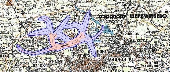 Карта зон зашумового